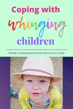 As much as we're grateful and happy to be spending so much time with our children during lockdown, it's pretty intense too! One thing I'm struggling with is dealing with the constant whinging! How are you coping? Kids Behavior, Child Behaviour, Attachment Parenting, Gentle Parenting, Funny Stories, Craft Activities, Grateful, Twins, Crochet Hats
