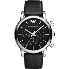 Emporio Armani Watch Luigi Mens Watch available to buy online from with free UK delivery. Daniel Wellington, Luigi, Emporio Armani Mens Watches, Herren Chronograph, Black Leather Watch, Dolce E Gabbana, Watch Brands, Fashion Watches, Men's Fashion