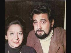 """Placido Domingo & Teresa Berganza """" Love-Duet"""" La Dolorosa"""