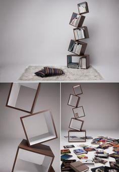 equilibrium bookshelf