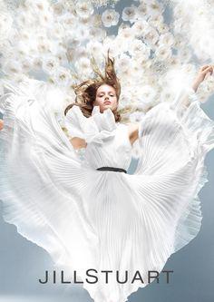 Esther Heesch for Jill Stuart 'Crystal Bloom' 2014 Fragrance Campaign by Satoshi Saikusa
