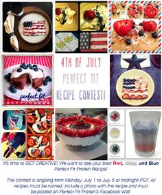 Tone It Up! Blog - Weekly Fitness Schedule #SummerSizzle Perfect Fit Protein, Workout Schedule, Tone It Up, Protein Foods, Reduce Weight, Healthy Weight Loss, Fourth Of July, Allrecipes, Acai Bowl
