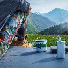 Morning above Tusheti  #livesimply #georgia #gruzja #morning #tplink #peaceful #mountains #mountainlife #liveadventurously #ComeBackNew #collectivelycreate #powerbank