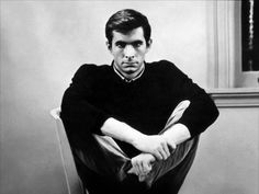 Anthony Perkins as Norman Bates, in Hitchcock's Psycho Anthony Perkins, Norman Bates, Tab Hunter, Bogart And Bacall, Boy Best Friend, Star Wars, Alfred Hitchcock, Horror Films, Beautiful Person