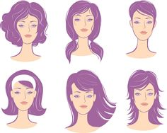 9 Best Hairstyles For Inverted Triangular Faces Images Diamond
