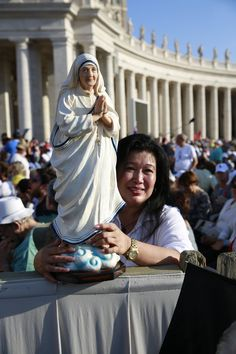 At The Canonisation 4 September 2016