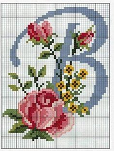 Thrilling Designing Your Own Cross Stitch Embroidery Patterns Ideas. Exhilarating Designing Your Own Cross Stitch Embroidery Patterns Ideas. Cross Stitch Alphabet Patterns, Embroidery Alphabet, Cross Stitch Letters, Embroidery Monogram, Cross Stitch Rose, Cross Stitch Flowers, Cross Stitch Charts, Cross Stitch Designs, Embroidery Patterns