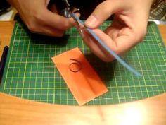 Quilling swirls - tutorial