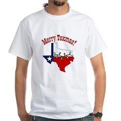 Merry Texmas Womens Tee T-Shirt