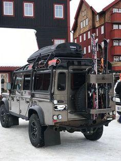 60 Ideas Truck Camper Land Rover Defender For 2019 Truck Camper, Jeep Truck, 4x4 Trucks, Ford Trucks, Defender Camper, Land Rover Defender 110, Land Rover Overland, Pajero, Automobile