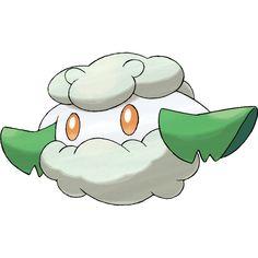 Cottonee   Grass   #546 out of #719   Unova   Cotton Pokemon  