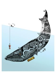 ballena mecanica