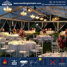Home - Shelter Clear Wedding Tents Supplier - Event Marquees Solutions Party Tents For Sale, Tent Sale, Tent Wedding, Wedding Reception, Home Shelter, Table Decorations, Marriage Reception, Wedding Reception Ideas, Wedding After Party