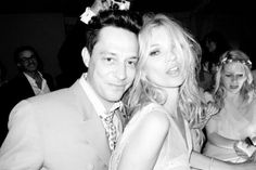 Kate Moss & Jamie Hince wedding reception, photographed by Terry Richardson