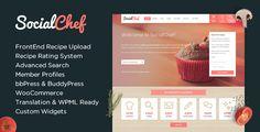 SocialChef - Social Recipe WordPress Theme  -  https://themekeeper.com/item/wordpress/socialchef-recipe-wordpress-theme