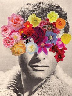 collage flores