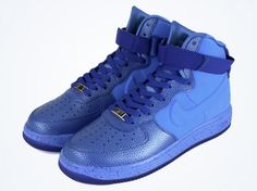 Nike Lunar Force 1 High Speckle: Game Royal/University Blue