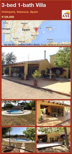 3-bed 1-bath Villa in Ontinyent, Valencia, Spain ►€126,000 #PropertyForSaleInSpain