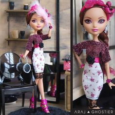 Ever After Dolls Rosy Day Dress by AralGhostier on Etsy