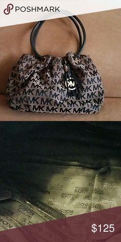 Handbag Black and brown authentic MK handbag Michael Kors Bags Hobos