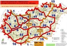 Fernradwege Ungarn