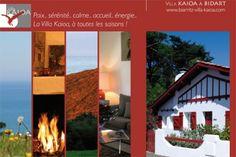 La villa Kaioa au fil des saisons
