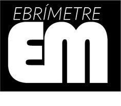 Logotip negatiu Blanc i negre