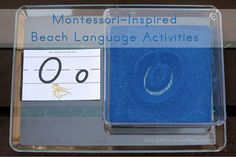 Montessori Inspired Ocean Activities (with links to printables)