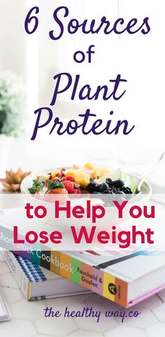 Great sources of Plant Protein to Lose Weight. Not tofu! Some you didn't think of.