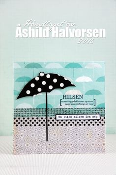 ♥ kreativt uttrykk ♥: Singing in the rain Singing In The Rain, Mini, Cards, Design, Home Decor, Decoration Home, Room Decor, Maps