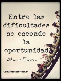 Entre las dificultades se esconde la oportunidad. #creandobienestar #ventadirecta @racvalsemprendedores