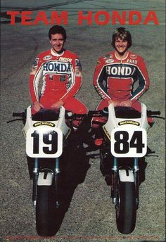 Freddie Spencer & Fred Merkel