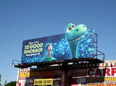 The Good Dinosaur special extension movie billboard