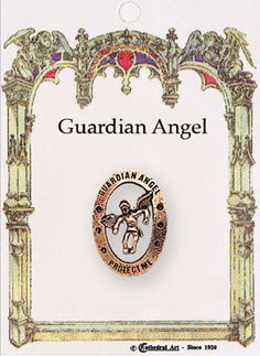 Guardian Angel Pin Brooch for First Communion - Communion Angels - First Communion Guardian Angel Pin - Gold First Communion Angel Pin - Boys Girls