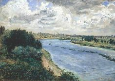 Pierre Auguste Renoir - Chalands sur la Seine
