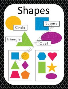 Shapes from SensationalHomeschooling on TeachersNotebook.com (6 pages)