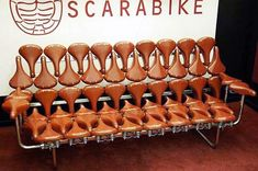 Bike Seat Sofa | 17 Quirky Couches Made from Repurposed Materials