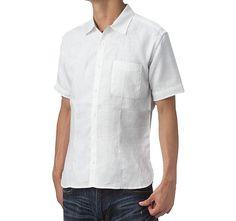Linen Shirt - Half Sleeves Linen Shirt - Half Sleeves|Custom Suits |Shirts |Sport |Coats |Tailor [L Shirt - H/s] - Custom Suits, | Shirts | Sport | Coats | Tailor