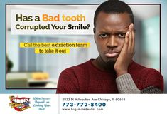 Whether you need to have a wisdom or a damaged tooth extracted, our team can safely and effectively take it out. Call for an extraction today. Emergency Dental Care, Wisdom Tooth, Wisdom Teeth Removal, Smile Dental, Your Smile, Good Things, Wisdom Teeth