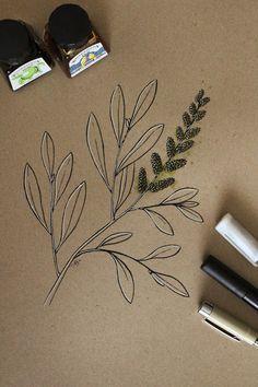 Inktober, Html, Herbs, Tattoos, Drawings, Tatuajes, Tattoo, Herb, Sketches