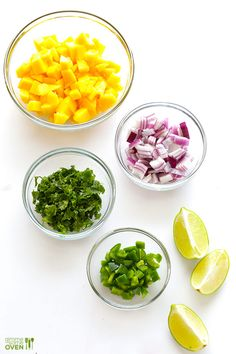 5-ingredient fresh mango salsa recipe