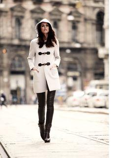 Tibet, 100% cashmere duffle coat, made in Italy, BARBARA LOHMANN AW14
