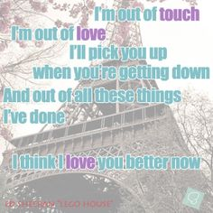 Ed Sheeran - Lego House #lyricquote