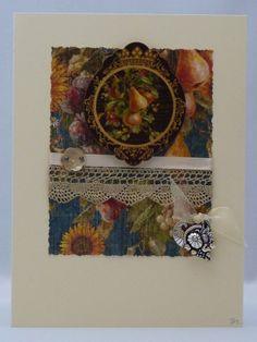 Handmade Card - Cornucopia £3.00