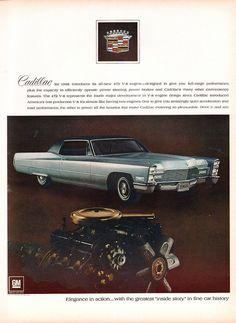 1968 Cadillac Advertisement Life Magazine October 13 1967 | Flickr - Photo Sharing!