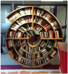 Amazing and Crazy Bookshelf You Never Seen Before