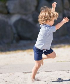 Shorts // Blue #petitcrabe #tinyapple #boys #swimwear #swimsuit #shorts #blue #beach #pool #letsgo