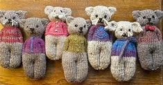 Ravelry: Animal Comfort Dolls patroon door P. Olson Ravelry: Animal Comfort Dolls patroon door P. Animal Knitting Patterns, Loom Patterns, Crochet Patterns, Loom Crochet, Crochet Toys, Tricot Simple, Addi Knitting Machine, Knitting For Charity, Loom Knitting Projects