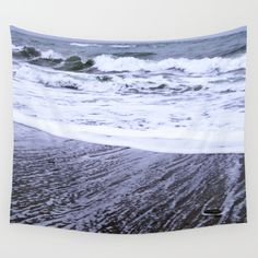After the Wave Wall Tapestry