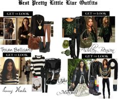 """""""Pretty Little Liars outfit"""" by ttylzaynab ❤ liked on Polyvore"""